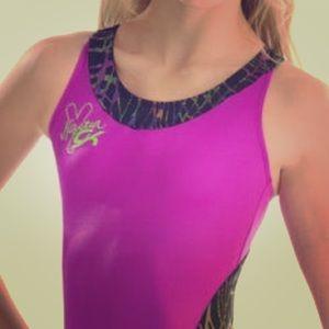GK Elite Sportswear Nastia Liukin LeotardScrunchie